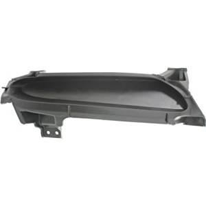 Perfect Fit Group REPM015523 - Mazda 3 Front Bumper Grille RH, Textured Black, Manual Trans, 2.0/ 2.5L Eng.
