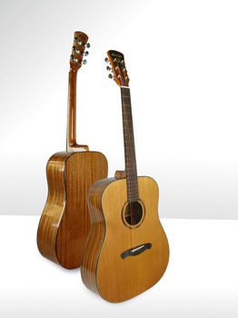 Wholesale music instrument 41 inch Dreadnought solid body acoustic guitar