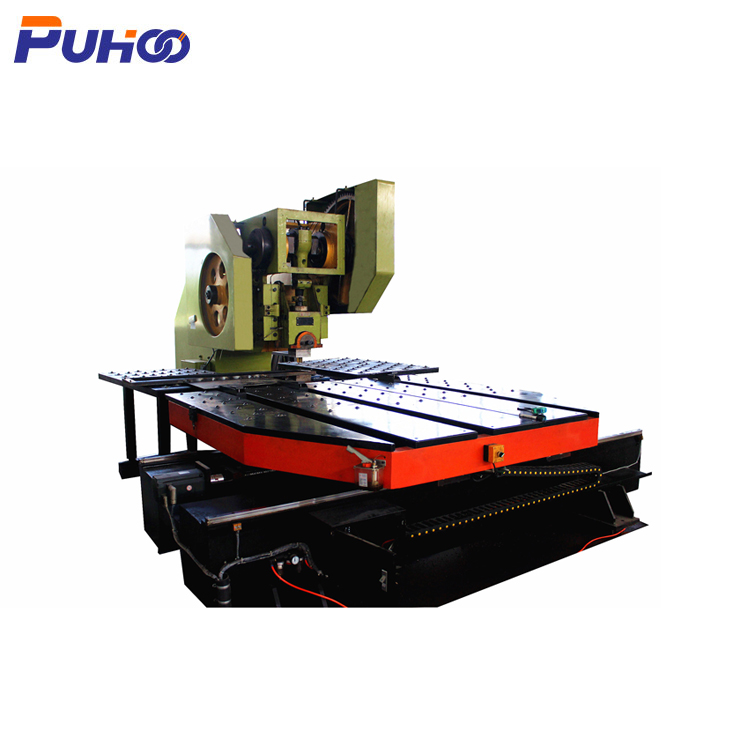 Full-automatic professional CNC punching hole machine for platform