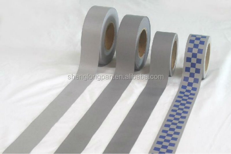 Sew On Fluorecent Reflective Tapes For Clothing