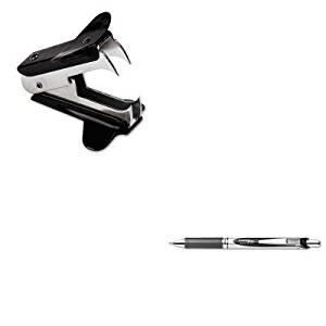 KITPENBL77AUNV00700 - Value Kit - Pentel EnerGel RTX Roller Ball Retractable Gel Pen (PENBL77A) and Universal Jaw Style Staple Remover (UNV00700)
