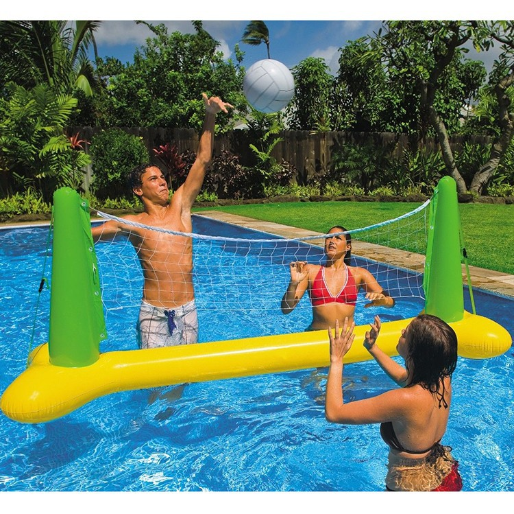 Swimming Pool Inflatable Volleyball Net Game Weighted Party Toy - Buy  Weight Party Toy,Inflatable Volleyball Net Game,Swimming Pool Volleyball  Net ...