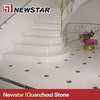 Precut high quality interior marble risers & stairs