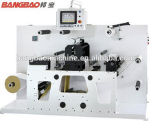 TXY-320G label intermittent die cutter machine/ semi rotary die cutting machine /label converting machine factory for sale