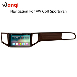 10.1inch Android 8.1 8cores Car gps Navigation System for VW Golf Sportsvan 2016-2018 support Stereo Bluetooth