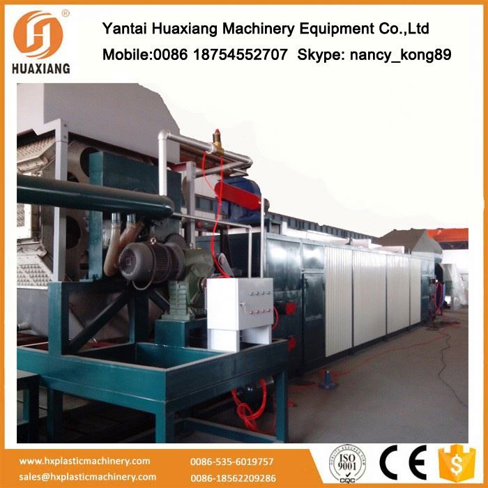 Best Business ideas small output yantai egg tray machine