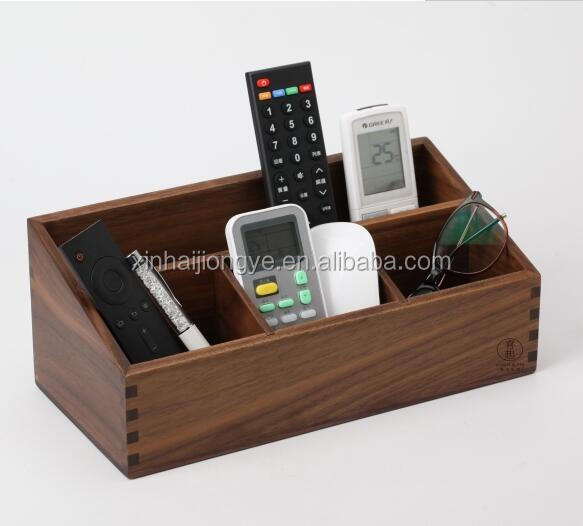 Multi Purpose wooden storage box for pen /pencil /cosmetics /remote control