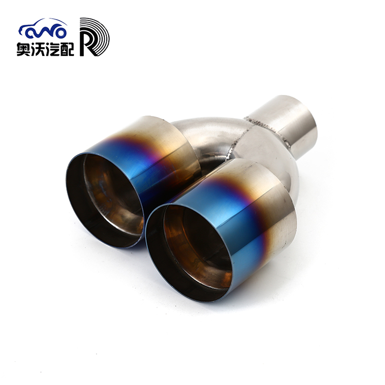 Wholesale Price 220/200mm Single Plate Durable Exhaust Muffler Pipe