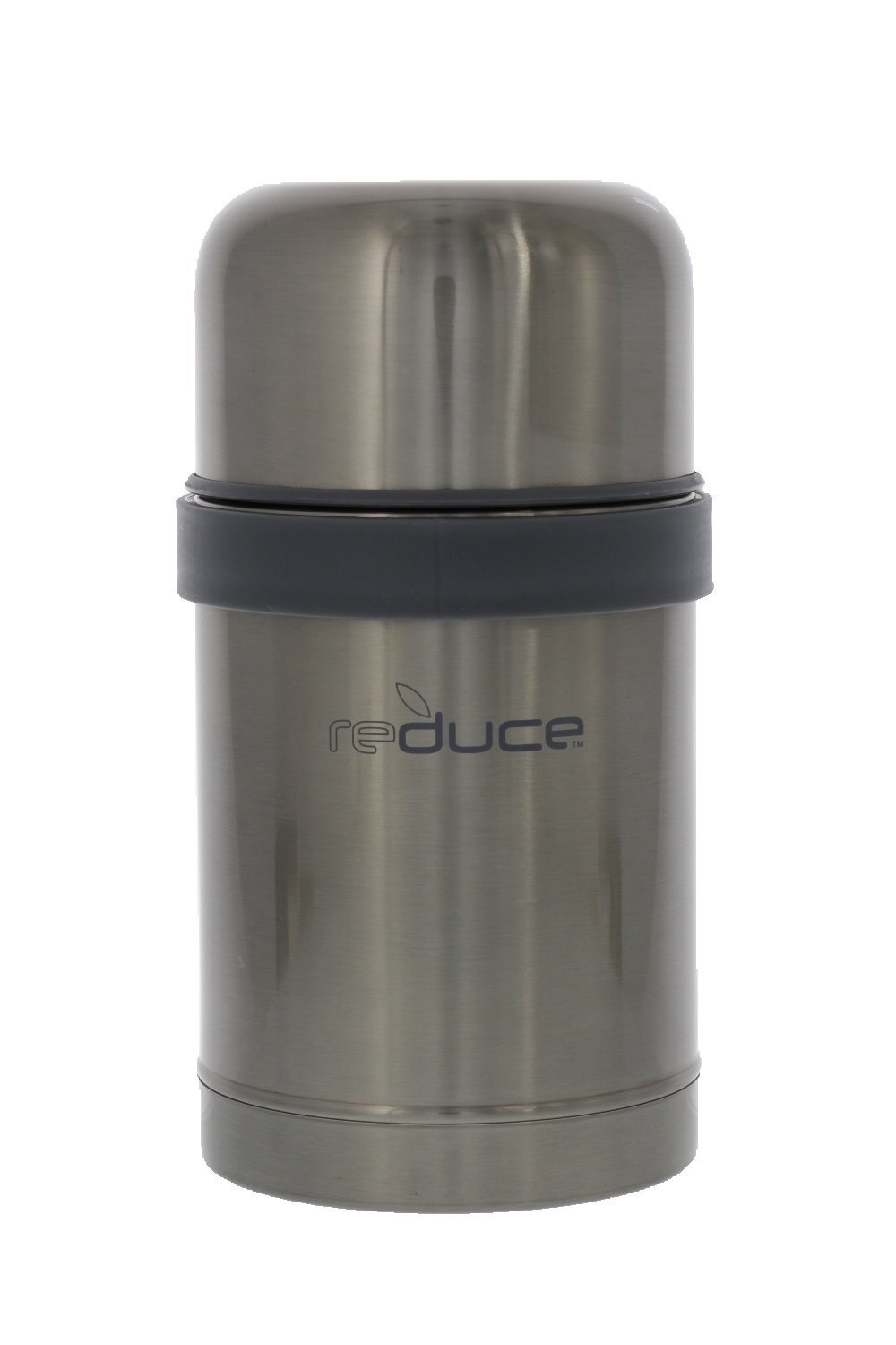 reduce Vacuum Insulated Stainless Steel Food Jar, 26 oz. - Grey