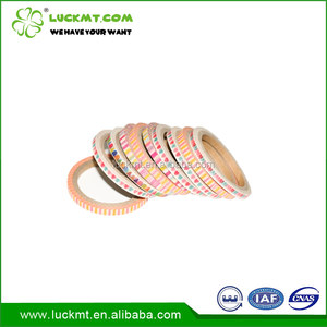 Customize Decoration Washi Paper Tape 3mm For Gift Wrapping/Decoration