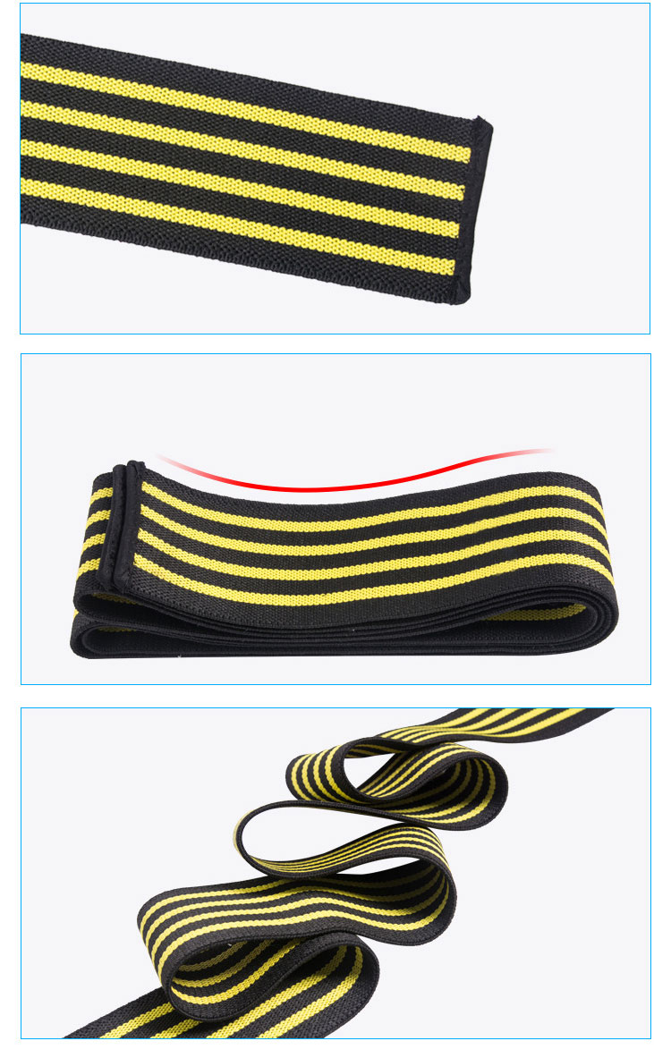 Customized Logo Elastic Knee Strap Weightlifting