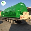The Integrated Design Used/Waste Tire/Tyre /Plastic Recycling Pyrolysis To Oil Plant Sold to 44 Countries