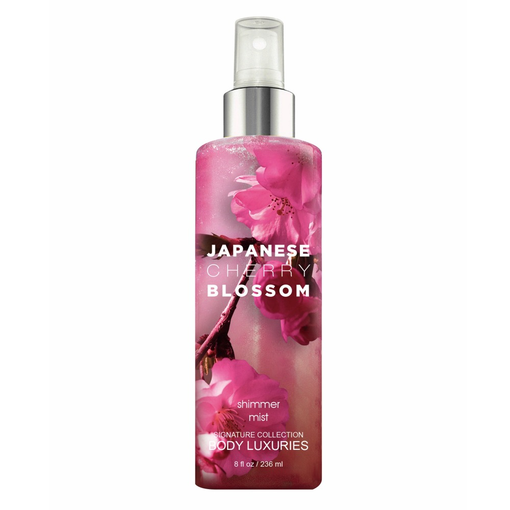 Geachte Body Merk Japanse Kersenbloesem Graceful Shimmer Geur Body Spray