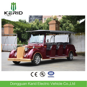 Small 8 person electric retro car for sale R6 (China) with rear axle