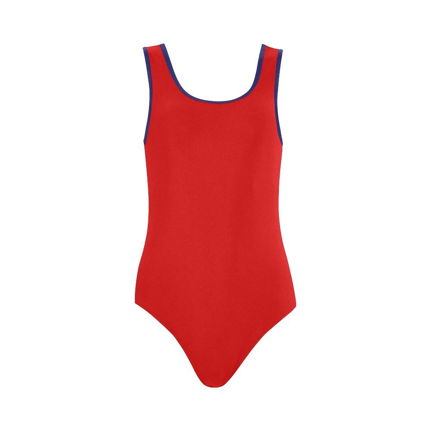 e945d7dae5045 Get Quotations · Find Arts Customized Red White Blue Swimsuit Vest One  Piece Swimsuit Bathing Suit Beachwear