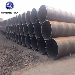 Used for Sewage Disposal Spiral Seam Large Diameter 2M SSAW Steel Pipe