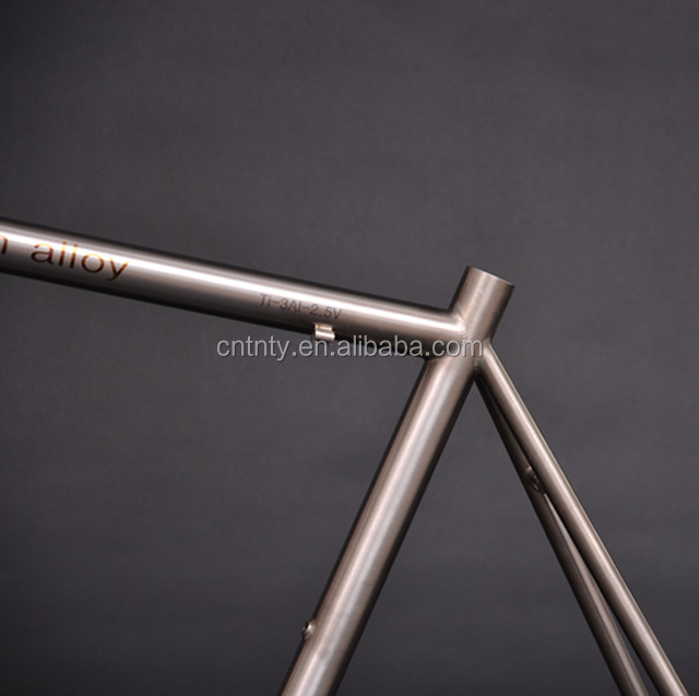 Good quality Customized titanium road bicycle frame