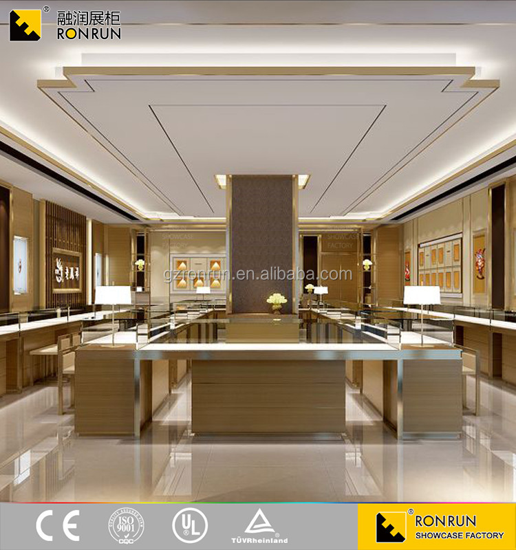 First class modern retail jewelry shop interior design for New interior design products