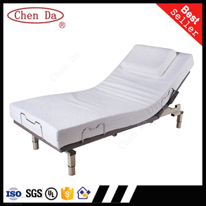 2015 new design adjustable bed twin
