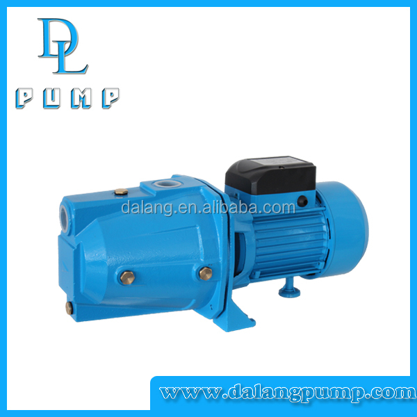 0.37kw/0.55kw/0.75kw brass / plastic impeller high pressure self-priming water jet pump
