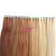 wholesale topper european double drawn slavic russian virgin remy stick tape hair extensions