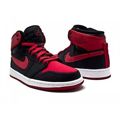 Air Jordan 1 Retro KO Hi Quickstrike (10, Black/Varsity Red-White)