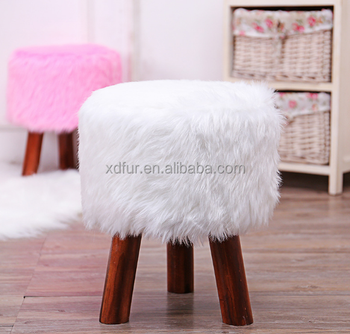 Factory Hot Sale Faux Fur Stool Cover Chair Cover Buy Factory Hot