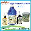 HT 8326 UV/anaerobic dual-curing structure glue for magnets and magnetic tile on alibaba china