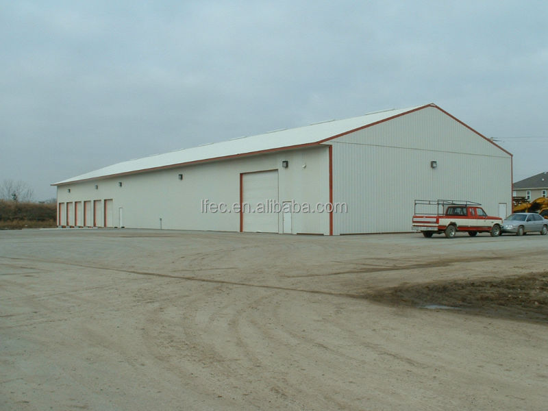 High quality prefabricated steel structure two story building warehouse