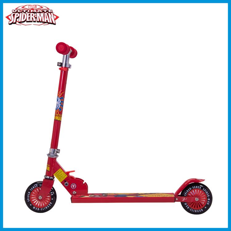 roller scooter two wheels scooter marvel cartoon kids. Black Bedroom Furniture Sets. Home Design Ideas