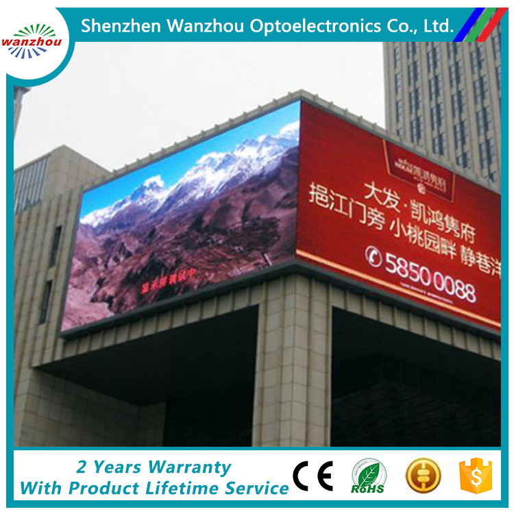Cheaper Price Hot Sale Full Colour Outdoor TV Curve LED Display Screen