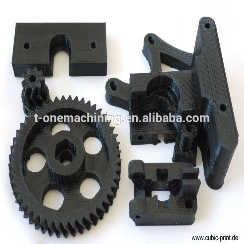 OEM custom high precision black plastic CNC machining turning shaping parts automotive spare parts