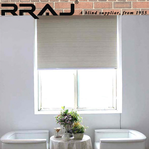 RRAJ Mechanical Window Kevlar Roller Blinds with Machanism