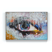 Hot selling newest handpainted modern abstract acrylic oil painting