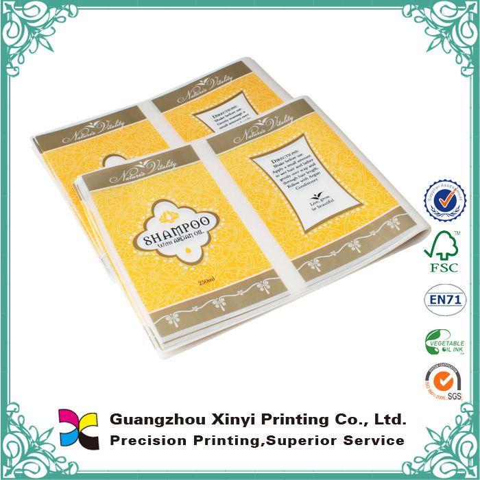 OEM Low Price Offset Printing Adhesive Textile Stickers