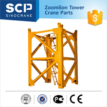 Mobile angle Steel Tube Spare Parts Mast Section Tower Crane Specification
