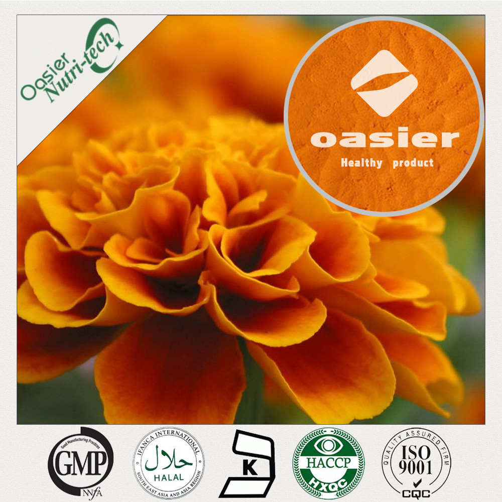 Natural Marigold Flower Extract lutein/zeaxanthin tablets for supplement
