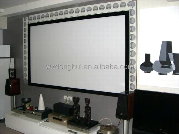 High Quality Fixed Frame Projector Screen,Home Theater Projectors ...