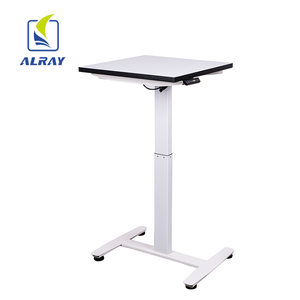 Computer table standing office work metal SPCC adjustable height desk