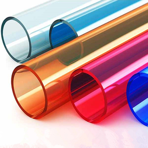 Colorful Hard PP Black Plastic Drain Pipe Customized PVC Pipes Manufacturer