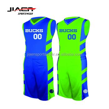 d860a953945e Jiaen apparel Custom sublimated mens basketball uniform design cheap cool  reversible basketball jerseys