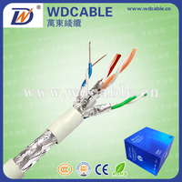 Standard Specification SSTP/SFTP CAT7 Network Cable