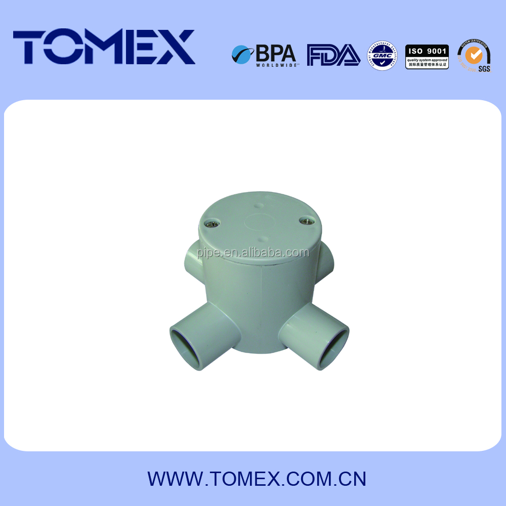 Electrical Pvc Pipe Fittings Box Liansu Wiring Electric Conduit View Suppliers And Manufacturers At