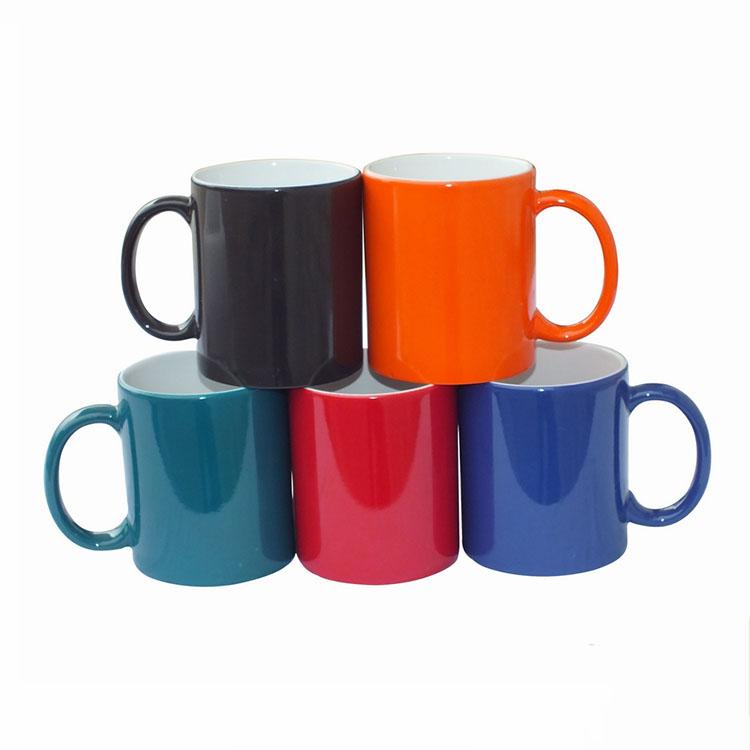 Sublimation Photo Color Changing Mug Ceramic Sublimation Magic Mug For Printing
