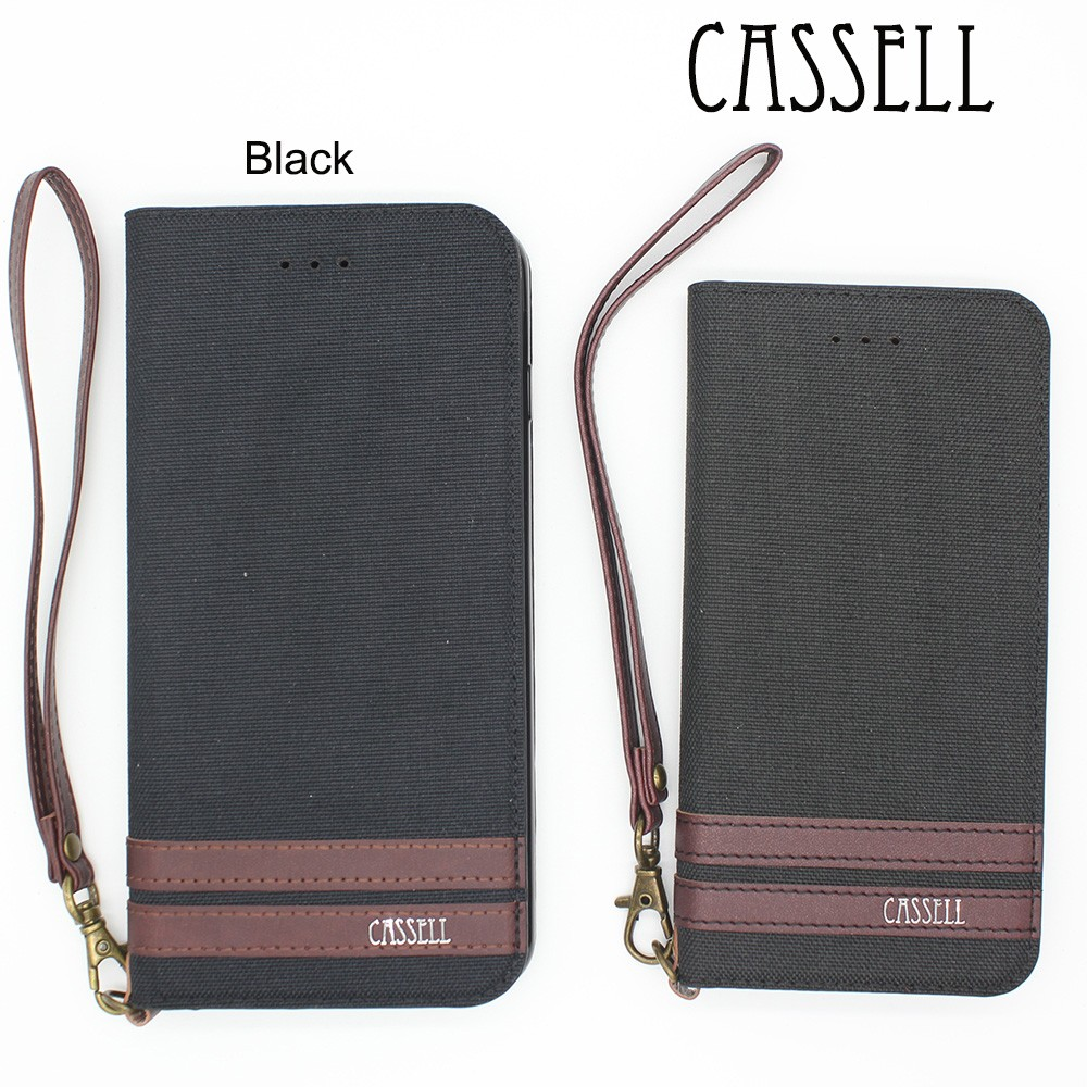 CASSELL Mobile Phone Accessories 5 colors leather wallet phone case For iphone Leather Case