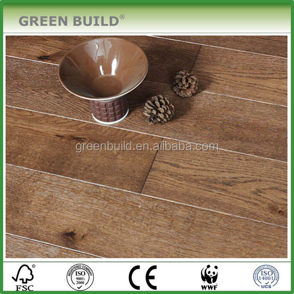 Anti scraped Light Brown Oak Engineered Wood <strong>flooring</strong> Best Price