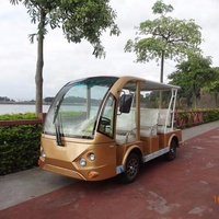 2018 hot 8 seats electric sightseeing car for park