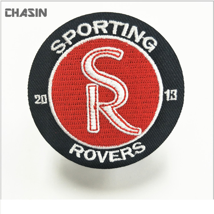 custom embroidery branding iron adhesive logos garment patch
