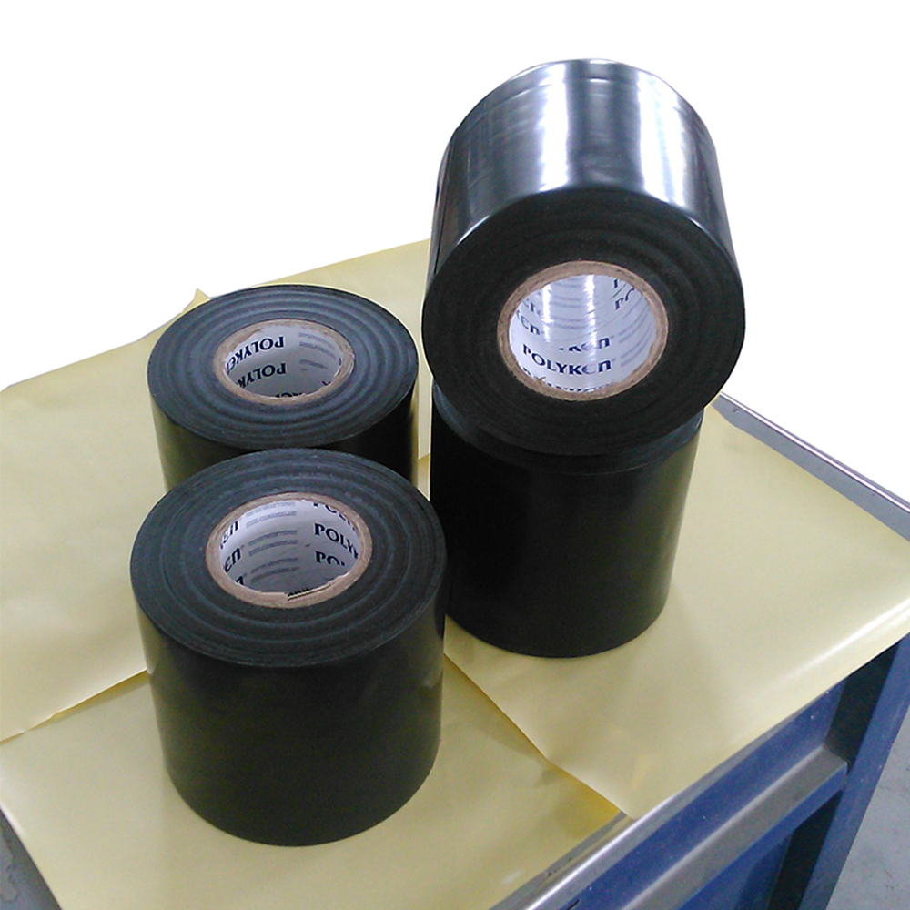 980 BLK waterproof bitumen anticorrosive pipe wrapping tape