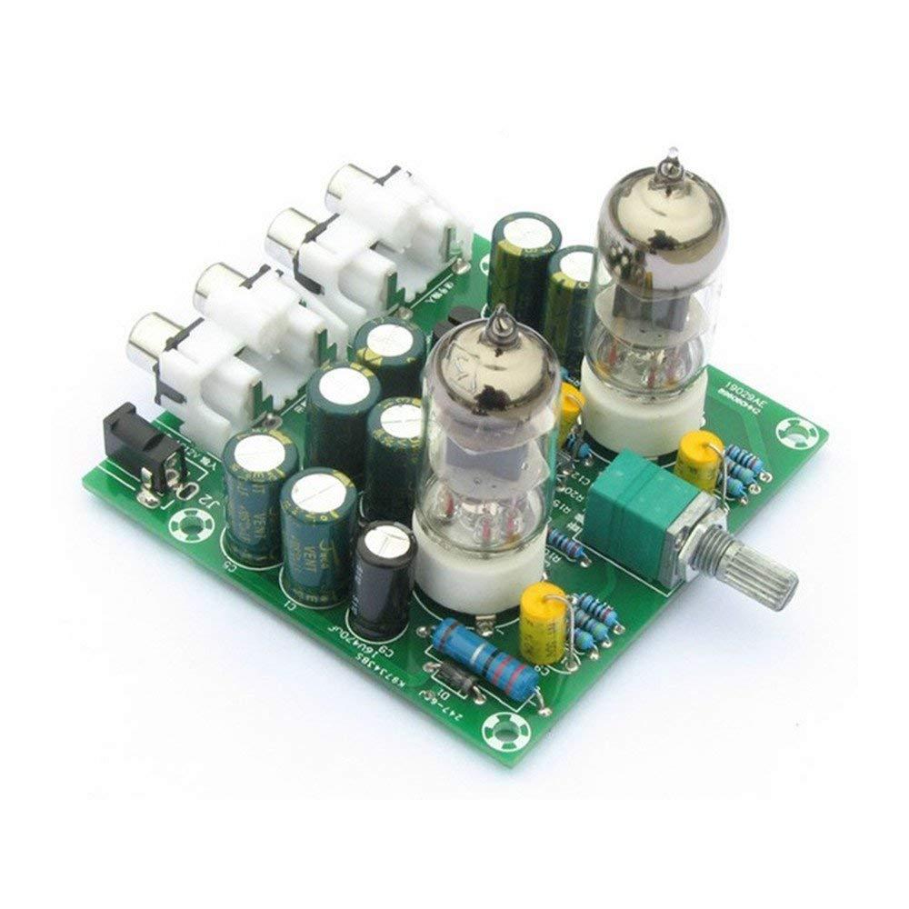JCOLI 6J1 Value Tube Amplifier Kit Preamp Amplifier Board Headphone Amp Preamplifier DIY